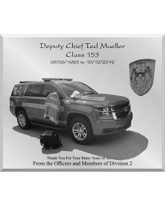 Retirement Mirror - Deputy Chief Firefighter