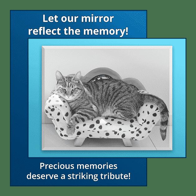 Memorial Mirror for Pet