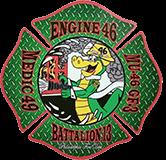 Philadelphia Fire Department -  Medic 49 - Engine 46 -  Battalion 13