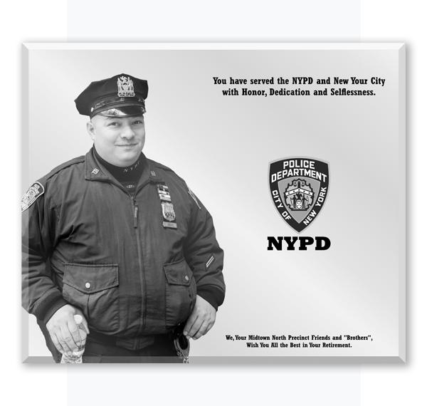Retirement Gift for Police Officer