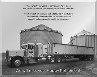 co-worker - Retiring Truck Driver